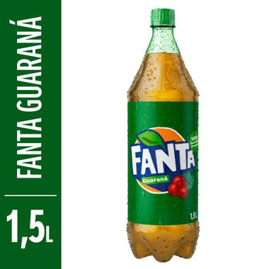 Refrigerante Sabor Guaraná Fanta 1,5L