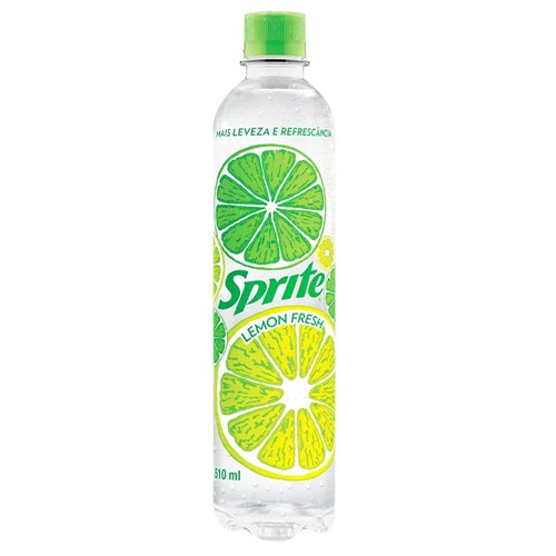 Refrigerante Sprite Lemon Fresh 510ml