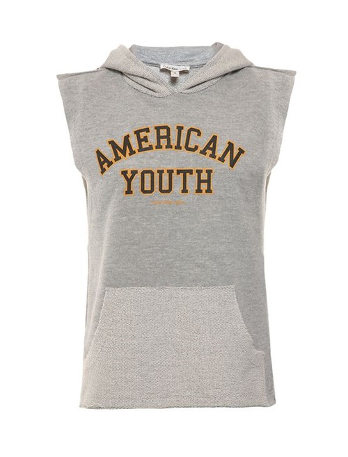 Regata Infantil Calvin Klein Jeans com Capuz Mescla - 4
