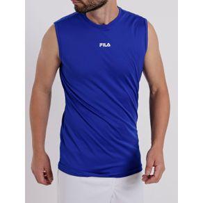 Regata Running Masculina Fila Azul G