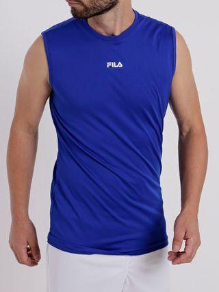 Regata Running Masculina Fila Azul