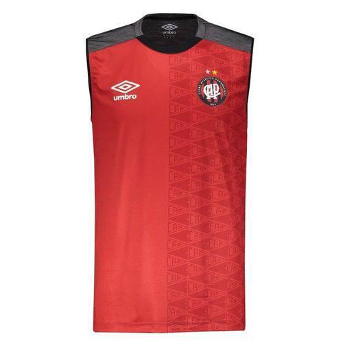 Regata Umbro Atlético Paranaense Aquecimento 2018 Vermelha