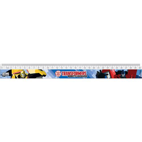 Régua 30cm Transformers - Tilibra