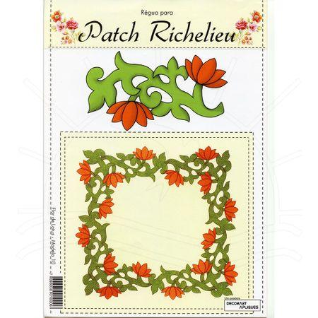 Régua para Patch Richelieu Márcia Caires Modelo 10 - Flor de Lótus
