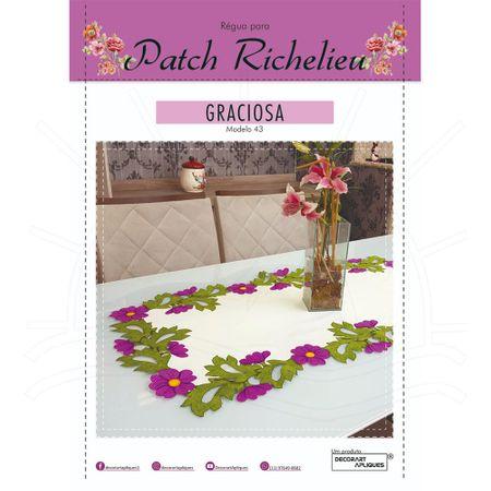 Régua para Patch Richelieu Márcia Caires Modelo 43 - Graciosa