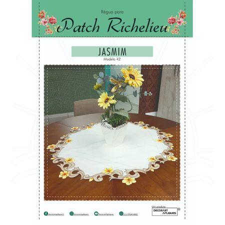Régua para Patch Richelieu Márcia Caires Modelo 42 - Jasmim