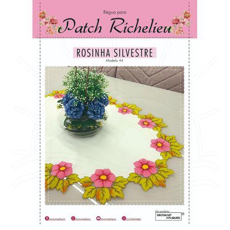 Régua para Patch Richelieu Márcia Caires Modelo 44 - Rosinha Silvestre