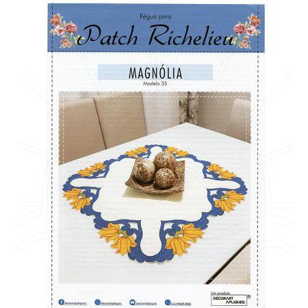 Régua para Patch Richelieu Márcia Caires Modelo 35 - Magnolia
