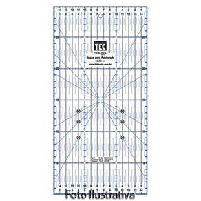 Régua para Patchwork 15 X 30 Cm Ref.7133-RP34530 Toke e Crie