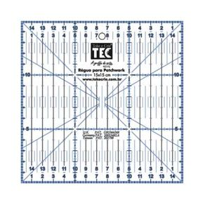 Régua para Patchwork 15 X 15 Cm Ref.7135-RP34115 Toke e Crie