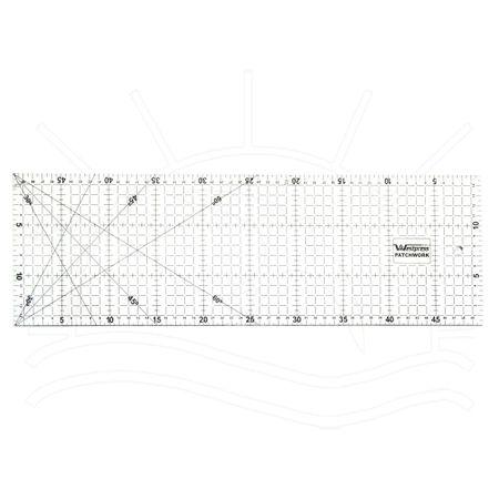 Régua para Patchwork Westpress - 15x50cm