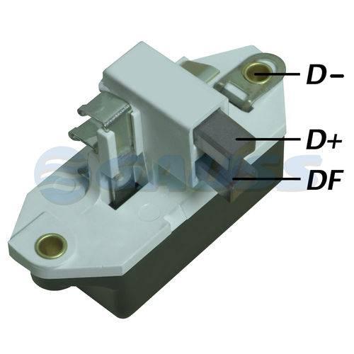 Regulador de Voltagem - Gauss - Ga027 - Unit. - Monza 1980-1997/verona 1991-1997/gol 1974-2013/passat 1974-2012