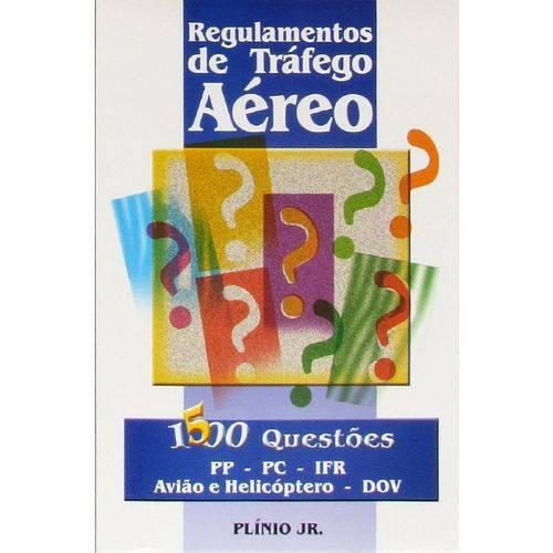 Regulamento de Tráfego Aéreo - 1500 Questões (Autor Plinio Jr) Editora Asa
