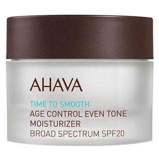 Rejuvenescedor Facial Ahava - Age Control Even Tone Moisturizer Broad Spectrum SPF 20 50ml