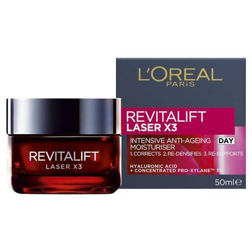 Rejuvenescedor Facial L'Oréal Paris Revitalift LASER X3 - 50