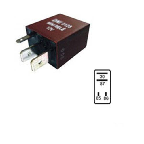 Rele Auxiliar Mini 12v 04 Terminais 30 Amperes