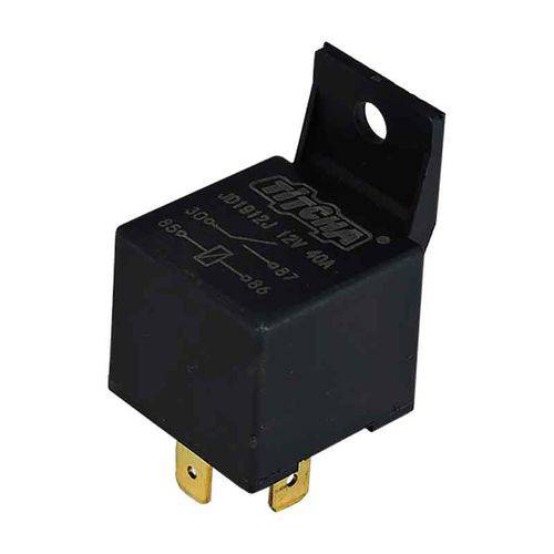 Relê Auxiliar Universal 12v 40 Amperes 4 Pinos