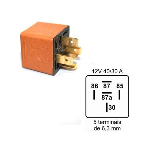 Relê da Ventoinha [ Ar-condicionado/parabrisa/compressor] 90491314 Prisma /celta /corsa