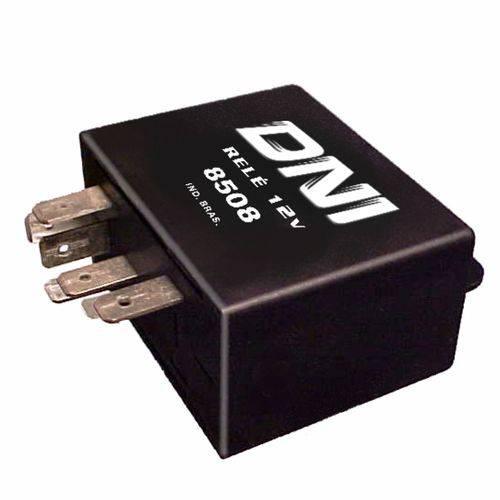 Relé para Travas Elétricas das Portas Dianteiras - 12v - Dni 8508 - Dni - Dni 8508 - Unit. - Tempra 1991-1999