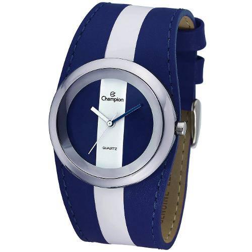 Relógio Champion Ca28430f Azul Marinho