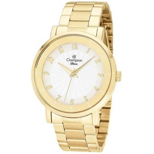 Relógio Champion Diva Feminino Dourado Cn26662h