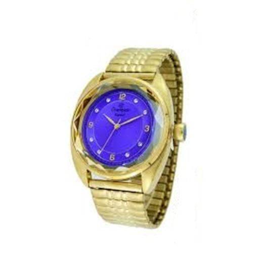 Relógio Champion Feminino Dourado Wr 50 Metros Cn27858d