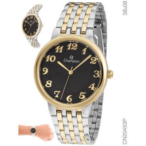 Relógio Champion Feminino Prateado e Dourado Cn20453p