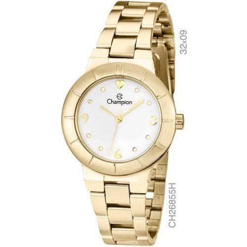Relógio Champion Kit Dourado Feminino Ch26855w