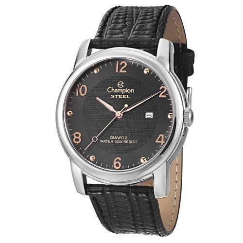 Relógio Champion Leather Masculino Analógico Ca21160t