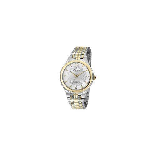 Relógio Champion Masculino Aço Prata Ca21384s