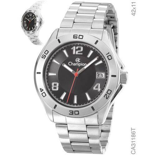 Relógio Champion Prateado Masculino Analógico Ca31186t