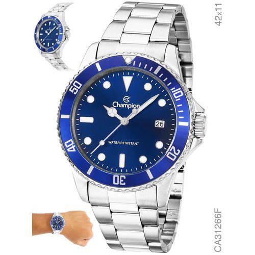 Relógio Champion Prateado Masculino Analógico Ca31266f
