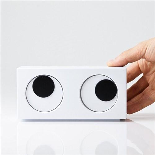 Relógio Criativo de Mesa - Olhos Esbugalhados