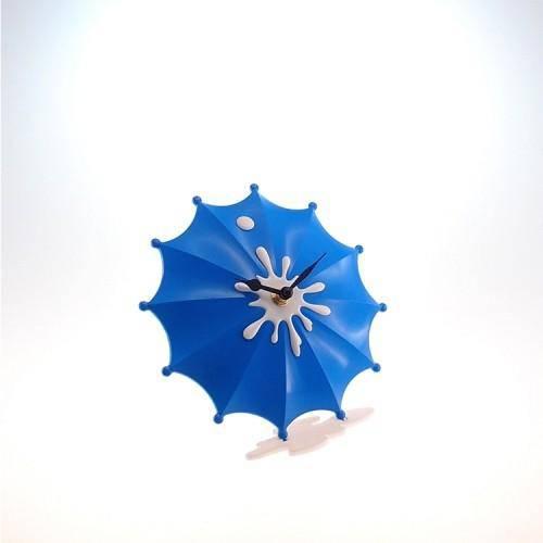 Relógio de Guarda Chuva Azul 15 Cm
