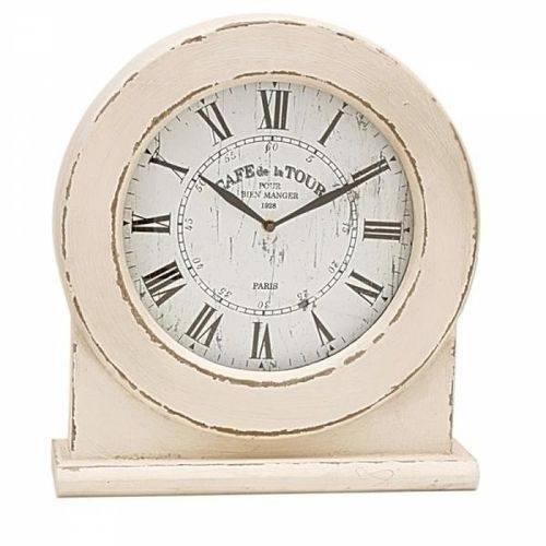 Relógio de Mesa Madeira Ø35cm
