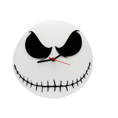 Relógio de Parede Decorativo - Modelo Jack Skellington