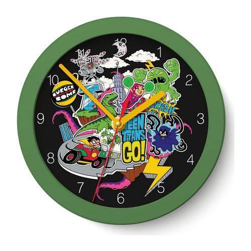 Relógio de Parede Jovens Titãs 22,5cm Urban