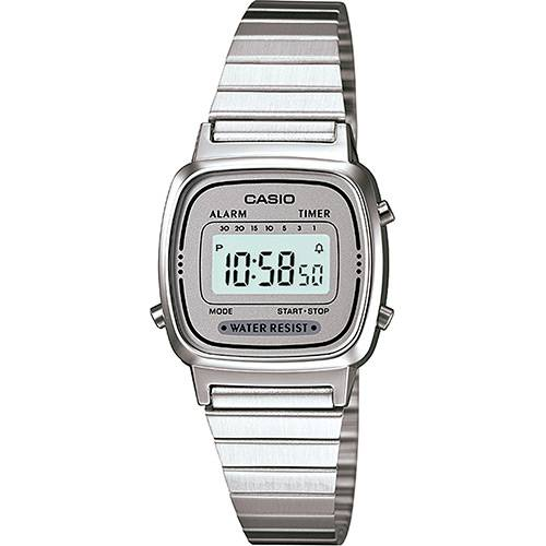 Relógio Feminino Casio Vintage Digital Fashion LA670WA-7DF