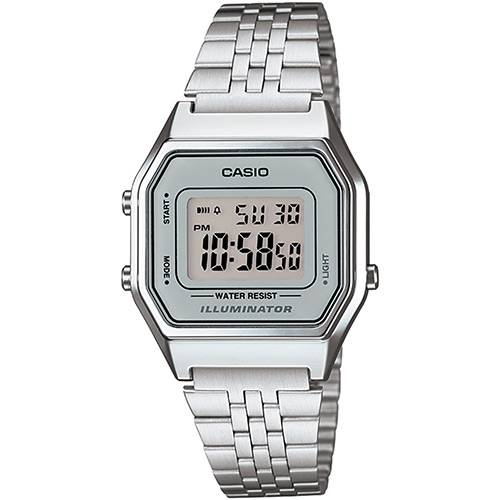 Relógio Feminino Casio Vintage Digital Fashion LA680WA-7DF