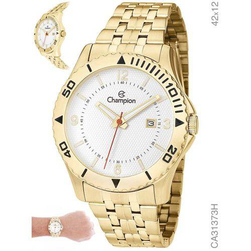 Relógio Masculino Champion Ca31373h Analógico Dourado
