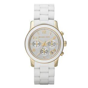 Relógio Michael Kors Feminino Branco - OMK5145/Z OMK5145/Z