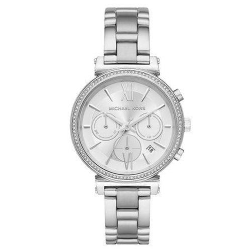 Relógio Michael Kors Feminino Sofie Prata MK6575-1KN