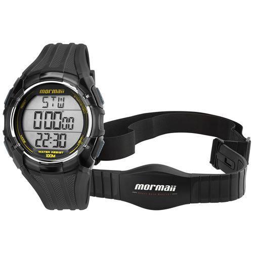 Relógio Mormaii Digital Monitor Cardíaco Mo11558a8a Cinza