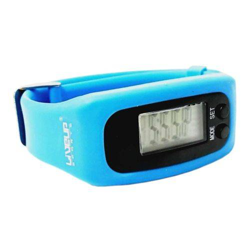 Relógio Pedômetro Liveup Sports LS3348A Azul