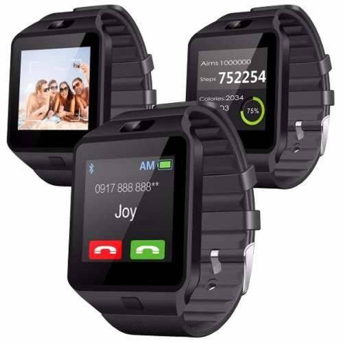 Relógio Smartwatch Bluetooth Inteligente Sd Chip Dz09