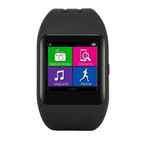 Relógio Smartwatch Sw1 Bluetooth Multilaser P9024