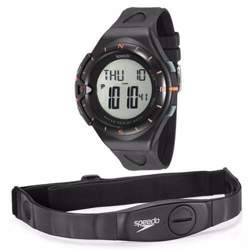 Relógio Speedo 58010G0EVNP1 Digital Preto Monitor Cardíaco