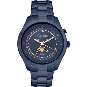 Relógio Technos Calendário Lunar Feminino Azul - 6P80AE/4A 6P80AE/4A