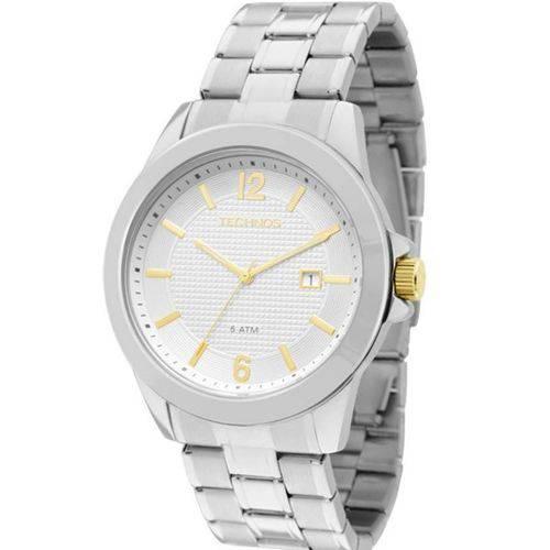 Relógio Technos Classic Steel Masculino 2115KNQ/1K
