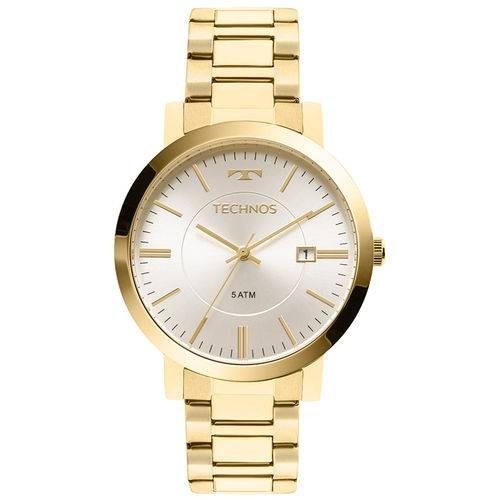Relógio Technos Dourado Feminino Elegance Dress 2115kzx/4k